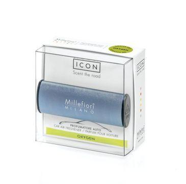 Millefiori Icon Car Air Freshener zapach samochodowy Metallo Mat Blue Oxygen 1szt