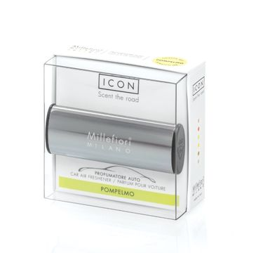 Millefiori Icon Car Air Freshener zapach samochodowy Metallo Shiny Antracite Pompelmo 1szt