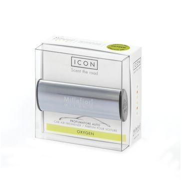 Millefiori Icon Car Air Freshener zapach samochodowy Metallo Shiny Blue Oxygen 1szt