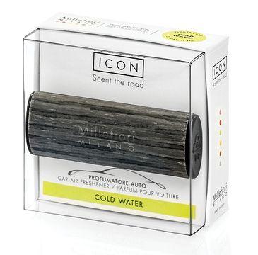 Millefiori Icon Car Air Freshener zapach samochodowy Wood Cold Water 1szt