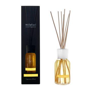 Millefiori Natural Fragrance Diffuser pałeczki zapachowe Legni e Fiori D'arancio 100ml
