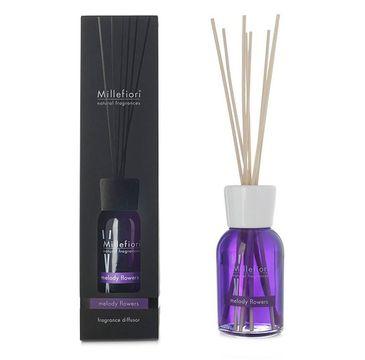 Millefiori Natural Fragrance Diffuser pałeczki zapachowe Melody Flowers 100ml