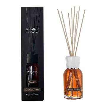 Millefiori Natural Fragrance Diffuser pałeczki zapachowe Vanilla and Wood 100ml