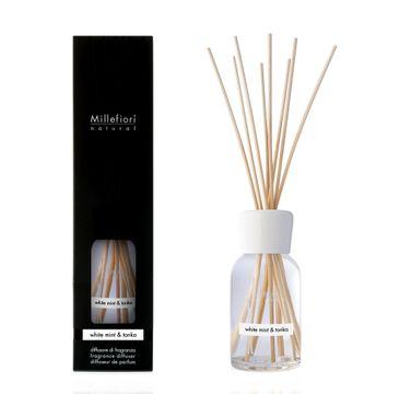 Millefiori Natural Fragrance Diffuser pałeczki zapachowe White Mint & Tonka 100ml