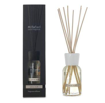 Millefiori Natural Fragrance Diffuser pałeczki zapachowe White Musk 100ml