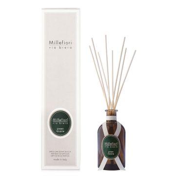 Millefiori Via Brera Fragrance Diffuser pałeczki zapachowe Green Reverie 100ml