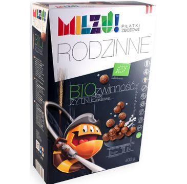 Milzu! Rodzinne Bio zwinność żytnie kulki kakaowe 400g