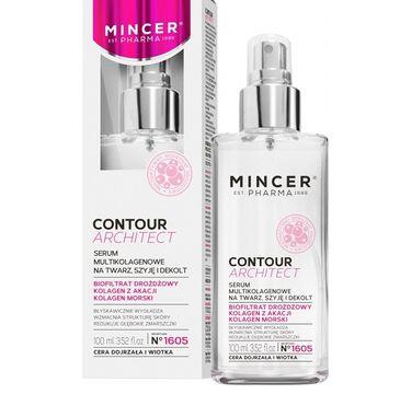 Mincer Pharma Contour Architect No.1605 serum multikolagenowe na twarz szyję dekolt do cery dojrzałej i wiotkiej 100ml