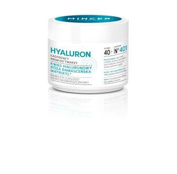 Mincer Pharma Hialuron łagodzący krem do twarzy na dzień słoik 50ml
