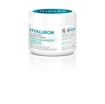 Mincer Pharma Hyaluron krem do twarzy liftingujący 70+ nr 404 50 ml