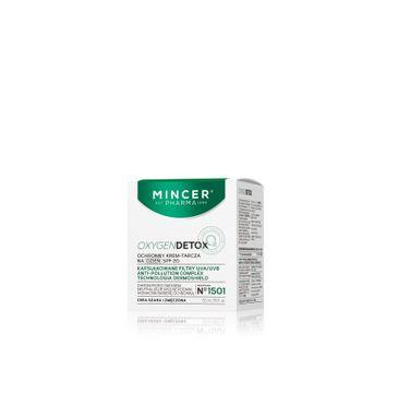 Mincer Pharma Oxygen Detox ochronny krem-tarcza do każdego typu cery SPF 20 nr 1501 50 ml