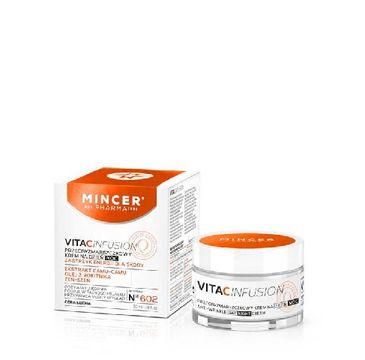 Mincer Pharma Vita C Infusion krem do twarzy przeciwzmarszczkowy na dzień i noc nr 602 50 ml