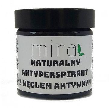 Mira – Naturalny antyperspirant w kremie z węglem aktywnym (50 g)