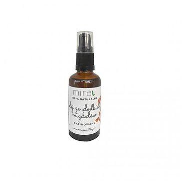 Mira – Naturalny olej ze słodkich migdałów rafinowany (50 ml)