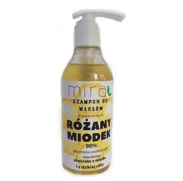 Mira Pielęgnacyjny szampon do włosów Różany Miodek (400 g)