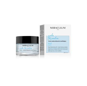 Miraculum – Woda Termalna Krem-maska aktywnie nawilżający na dzień i noc (50 ml)
