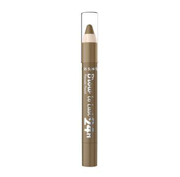 Miss Sporty Brown To Last 24H Pomade Pencil pomada do brwi w kredce 2