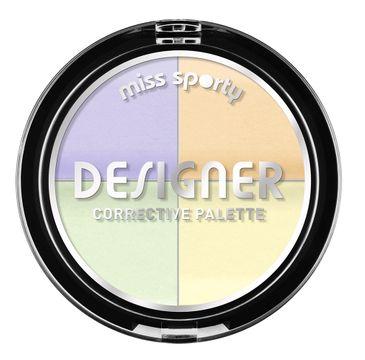 Miss Sporty Designer Corrective Palette paletka czterech korektorów 7g