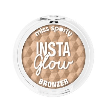 Miss Sporty Insta Glow Bronzer bronzer do twarzy 001 Sunkissed Blonde 5g