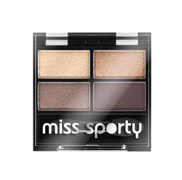 Miss Sporty Studio Colour Quattro Eye Shadow poczwórne cienie do powiek 403 Smoky Brown Eyes 5g