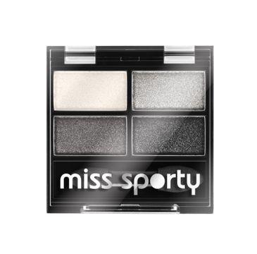Miss Sporty Studio Colour Quattro Eye Shadow poczwórne cienie do powiek 404 Real Smoky/Smoky Black 5g