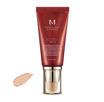 Missha M Perfect Cover BB Cream SPF42/PA+++ wielofunkcyjny krem BB 13 Bright Beige 50ml