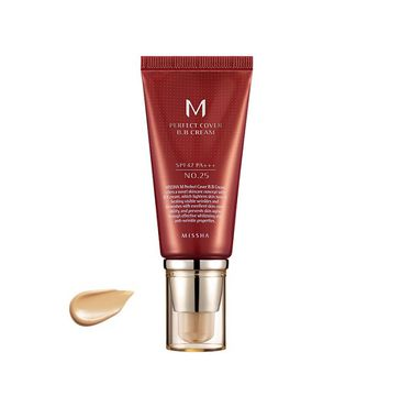 Missha M Perfect Cover BB Cream SPF42/PA+++ wielofunkcyjny krem BB 25 Warm Beige 50ml