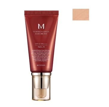 Missha M Perfect Cover BB Cream wielofunkcyjny krem BB SPF42/PA+++ 21 Light Beige 50ml