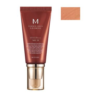Missha M Perfect Cover BB Cream wielofunkcyjny krem BB SPF42/PA+++ 31 Golden Beige 50ml