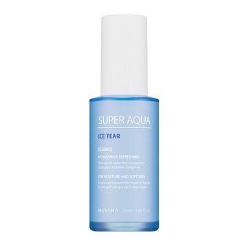 Missha Super Aqua Ice Tear Essence lekka nawilżająca esencja do twarzy 50ml