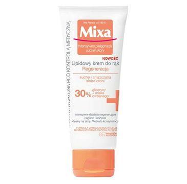 Mixa krem lipidowy do rąk regenerujący 30% 100 ml