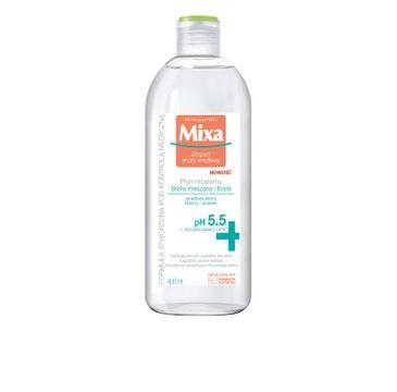 Mixa Płyn micelarny do demakijażu twarzy cera tłusta i mieszana  400 ml