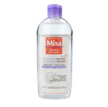 Mixa – płyn micelarny do twarzy i oczu dla dorosłych i dzieci (400 ml)