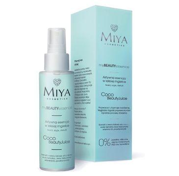 Miya My Beauty Essence esencja do twarzy w lekkiej mgiełce Kokos i Aloes (100 ml)