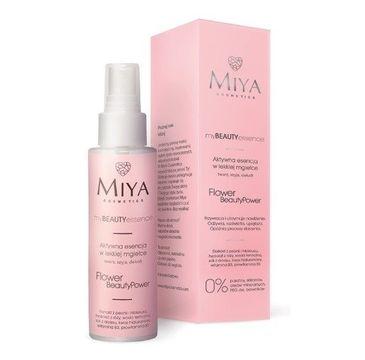 Miya My Beauty Essence esencja do twarzy w lekkiej mgiełce Róża i Peonia (100 ml)