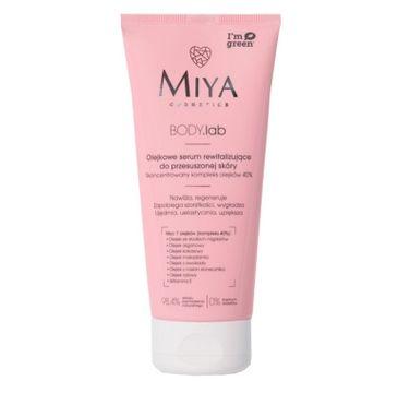 Miya Body.lab olejkowe serum rewitalizujące do przesuszonej skóry (200 ml)