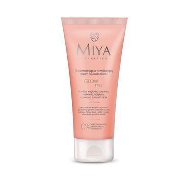Miya Cosmetics Glow Me rozświetlająco-nawilżający balsam do ciała i dekoltu 200 ml