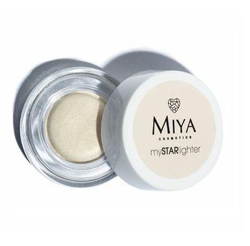 Miya My Star Lighter – naturalny rozświetlacz w kremie Moonlight Gold (4 g)