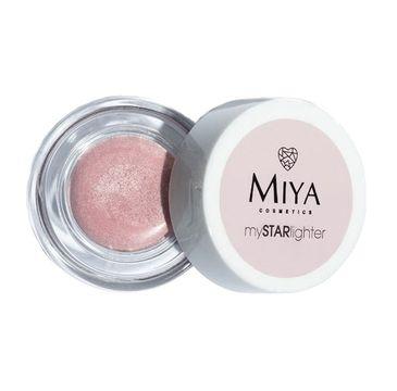 Miya My Star Lighetr – naturalny rozświetlacz w kremie Rose Diamond(4 g)