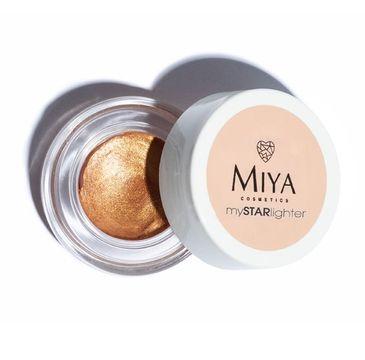 Miya My Star Lighter – naturalny rozświetlacz w kremie Sunset Glow (4 g)