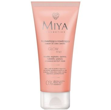 Miya Glowa Me – balsam do ciała i dekoltu rozświetlająco - nawilżający (200 ml)