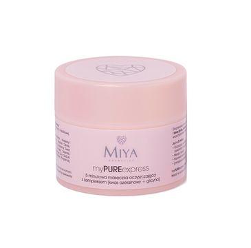 Miya My Pure Express – 5-minutowa maseczka oczyszczająca (50 g)