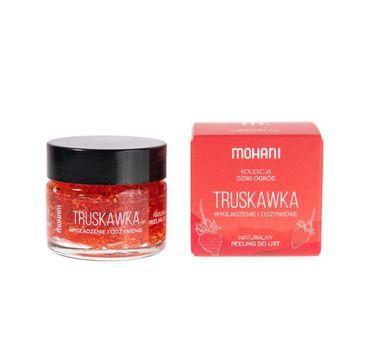 Mohani Wygładzająco-odżywczy peeling do ust Truskawka (15 ml)