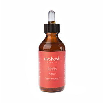 Mokosh – rozświetlający eliksir do ciała Pomarańcza z cynamonem (100 ml)