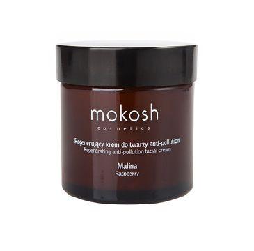 Mokosh – regenerujący krem do twarzy anti-pollution Malina (60 ml)
