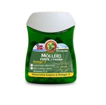Möller's – Forte z tranem suplement diety (60 kapsułek)