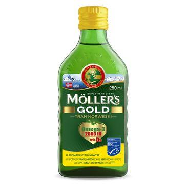 Möller's Gold Tran Norweski suplement diety Cytrynowy (250 ml)