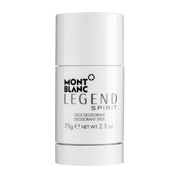 Mont Blanc Legend Spirit Pour Homme dezodorant sztyft 75ml