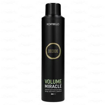 Montibello  Decode Volume Miracle spray nadający objętość i fakturę (250 ml)