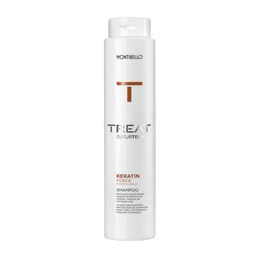 Montibello Treat Naturtech Keratin Force Shampoo wzmacniający szampon do włosów z keratyną (300 ml)